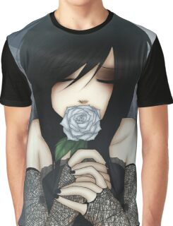 EMO- Wilted Dead Rose Graphic T-Shirt