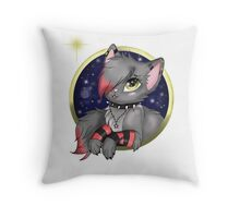 EMO- Gorgeous Cat Throw Pillow