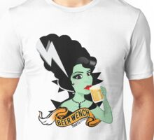 Foxy Beer Wench Unisex T-Shirt