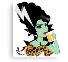 Foxy Beer Wench Canvas Print