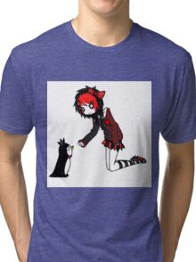 EMO- Penguin From Southpole Tri-blend T-Shirt