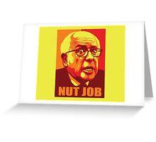 Bernie-Nut Job Greeting Card