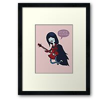 EMO- Why Did You Eat My Fries Framed Print