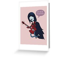 EMO- Why Did You Eat My Fries Greeting Card