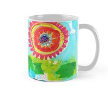 big flower Mug