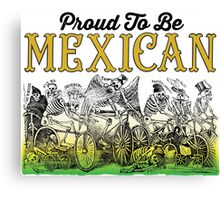 Mexican Canvas Print