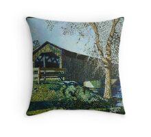 West Bend Art 1 Throw Pillow