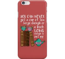 Books & Tea  iPhone Case/Skin