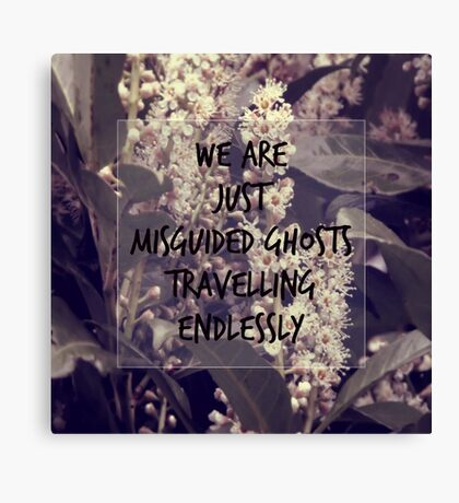 Misguided Ghosts Canvas Print