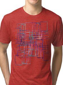 Unique modern elegant line Tri-blend T-Shirt