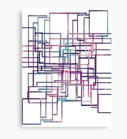 Unique modern elegant line Canvas Print