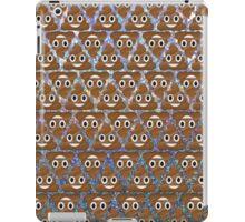 Poo emoji pattern iPad Case/Skin