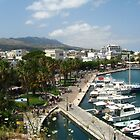 Kos town harbour by Newstyle