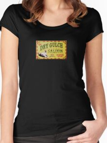 Dry Gulch Saloon Women's Fitted Scoop T-Shirt