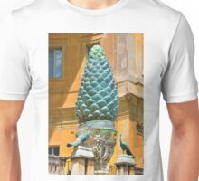 PINECONES, PEACOCKS, POPES AND PATCHES Unisex T-Shirt