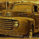 """Momma's Ford""... prints and products  by © Bob Hall"