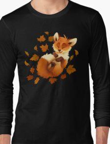Playful Fox Long Sleeve T-Shirt