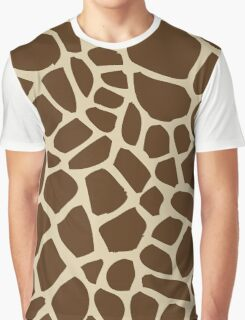 Giraffe pattern Graphic T-Shirt