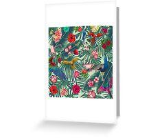 tropical fun nature  Greeting Card