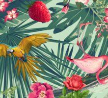 tropical fun nature  Sticker