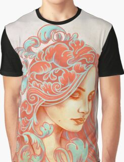 Filigree Face Graphic T-Shirt