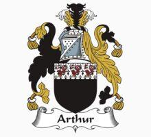Arthur Coat of Arms / Arthur Family Crest Baby Tee