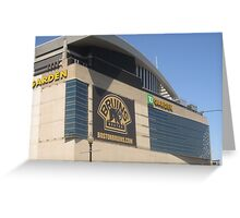Boston Garden Greeting Card