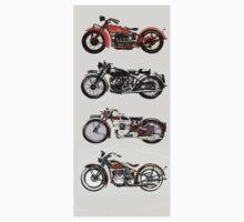 VINTAGE MOTORCYCLES Kids Tee