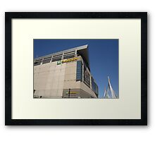 The Garden and Zakim Framed Print