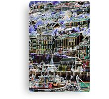 Dartmouth - Ferry to Kingswear Canvas Print