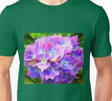 Hydrangea Dreams  (All Sales Proceeds Donated for Cancer Research) Unisex T-Shirt