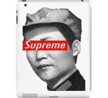 Supreme Mao iPad Case/Skin