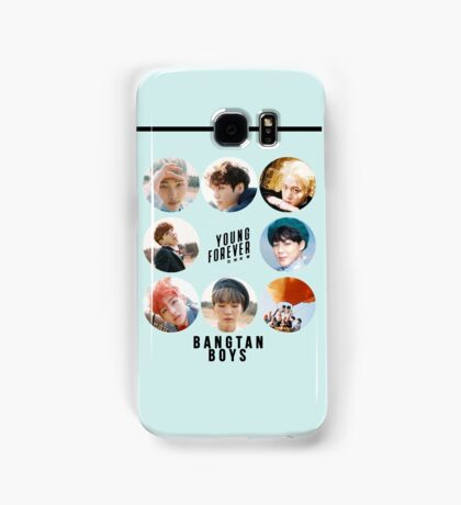 BTS Young Forever; All Members Samsung Galaxy Case/Skin