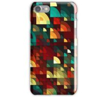 Abstract Fish Scales  iPhone Case/Skin