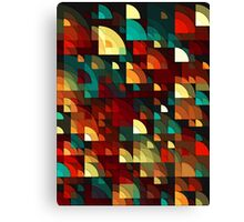 Abstract Fish Scales  Canvas Print