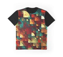 Abstract Fish Scales  Graphic T-Shirt