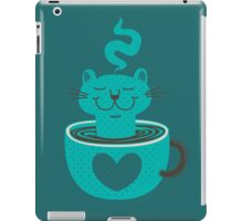 Cat in a Cup iPad Case/Skin