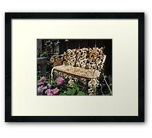The Aged Garden Framed Print