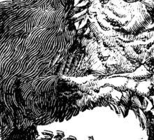 Medieval Owlbear Sticker