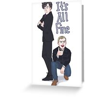 It's All Fine Greeting Card