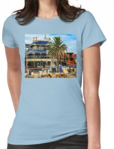 On The Jetty ~ Brighton Womens Fitted T-Shirt