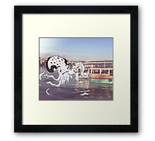 Imaginary Octo-Friend by Kale Atterberry Framed Print