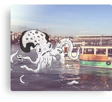 Imaginary Octo-Friend by Kale Atterberry Canvas Print