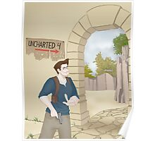 Nathan Drake 2 Poster
