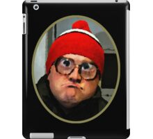 Bubbles - Christmas Isn't About Dope and Drunk Santas iPad Case/Skin
