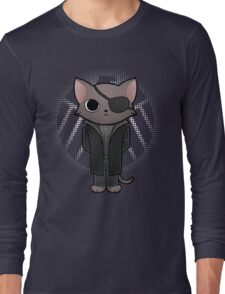 Nick Furry - director of S.H.I.E.L.D. Long Sleeve T-Shirt
