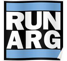 Argentina RUN-DMC Style Design - Hip Hop Poster