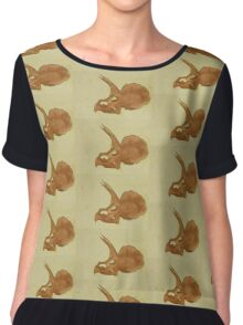 Without a Third Horn Chiffon Top