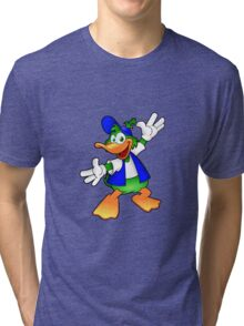 Happy Duck Tri-blend T-Shirt