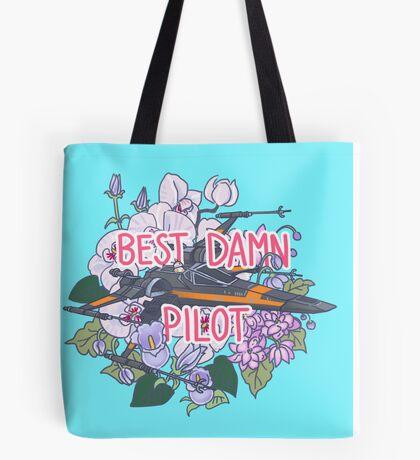 Best Damn Pilot Tote Bag